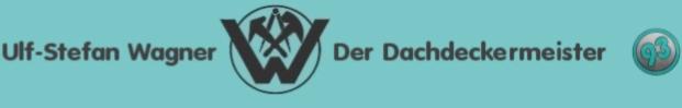 Dachdeckermeister Ulf Stefan Wagner Logo